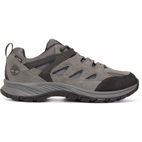 Timberland Sadler Pass F/L Low GTX Shoes Herren dark grey suede/mesh